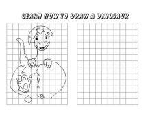 learn to draw dinosaur