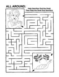 maze around