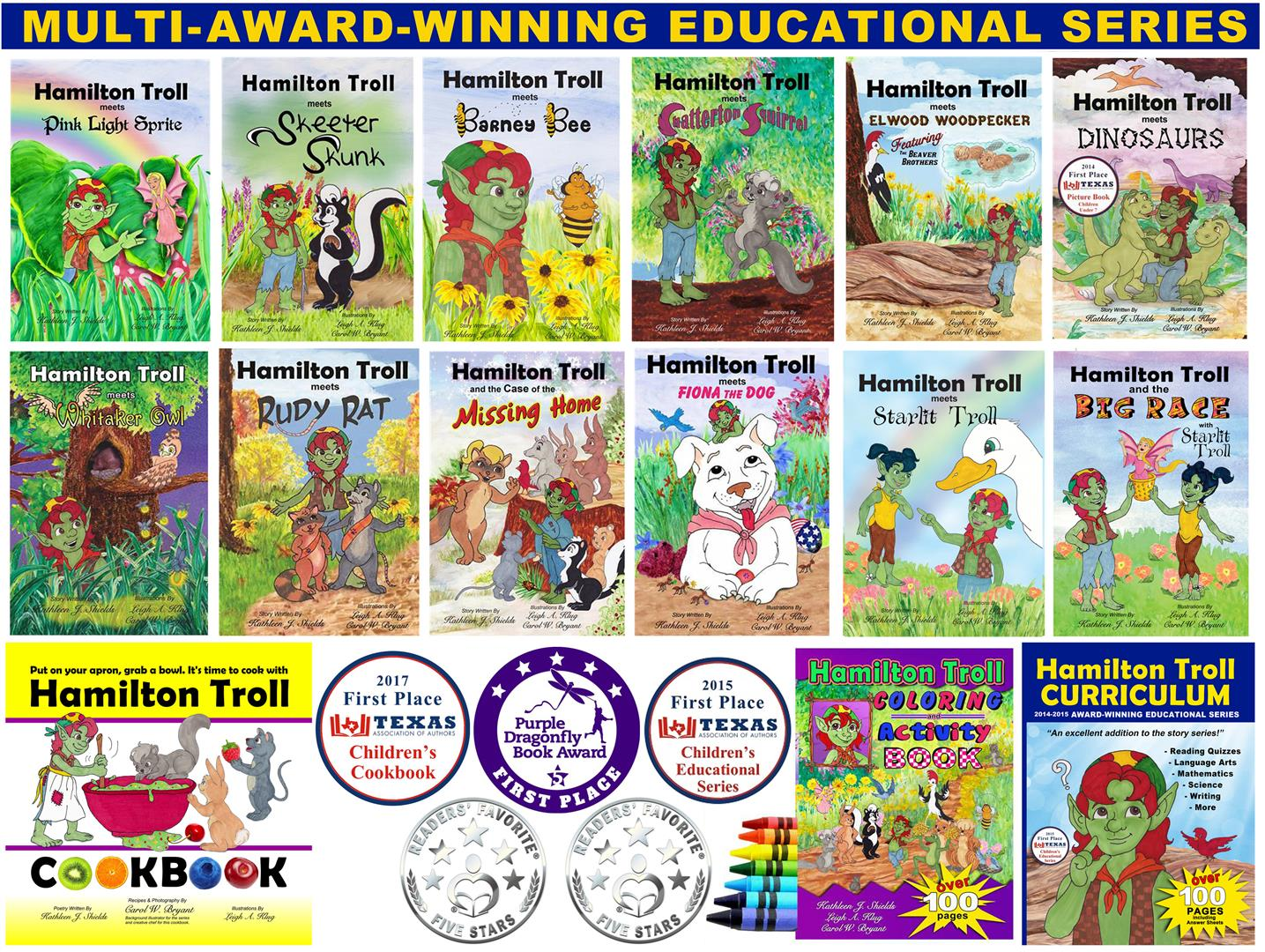 Multi-Award-Winning Educational Children's Book Series The Hamilton Troll Adventures